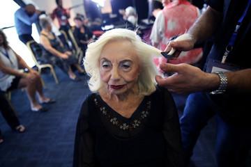 Annual Holocaust survivors' beauty pageant in Haifa