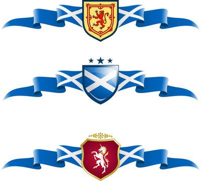 Scotland Patriotic Banner Set