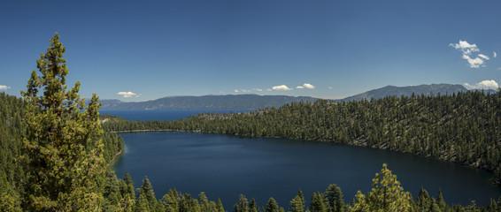 Lake Tahoe and Cascade Lake