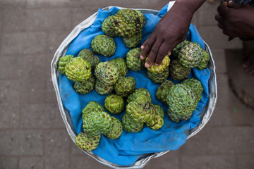 Selection of Custard apple