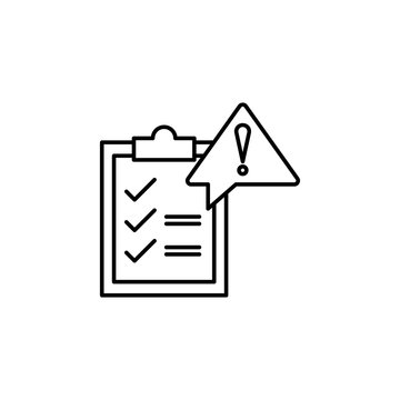 Governance, risk  icon. Element of general data project icon for mobile concept and web apps. Thin line Governance, risk  icon can be used for web and mobile