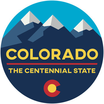 colorado: the centennial state | digital badge