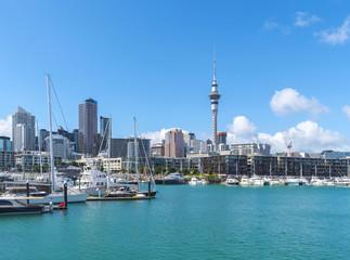 Landscape View of Auckland City Landmark, Auckland New Zealand