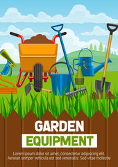 Gardening equipment and farming tools