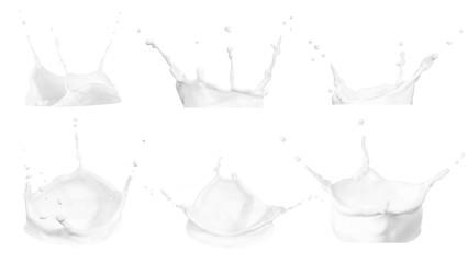 milk splashes collection