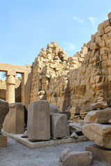 Ancient ruins of Karnak Temple, Luxor, Egypt