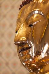Face of the Golden Buddha