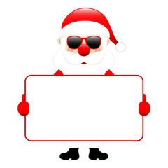 Santa Sunglasses Holding Board
