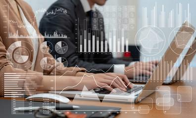 ビジネスと統計 - fototapety na wymiar