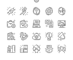 MLM Well-crafted Pixel Perfect Vector Thin Line Icons 30 2x Grid for Web Graphics and Apps. Simple Minimal Pictogram