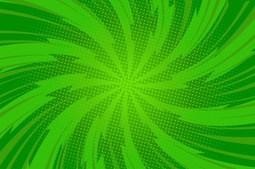Abstract green bright background