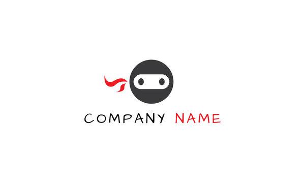 Teenage Ninja vector logo image