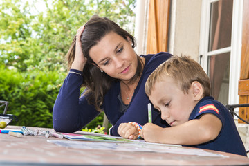 enfant et devoirs