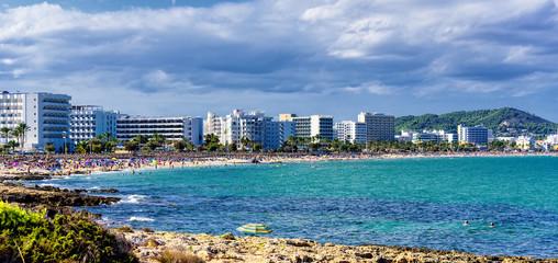 Himmel Cala Millor Bucht Stadt Mittelmeer