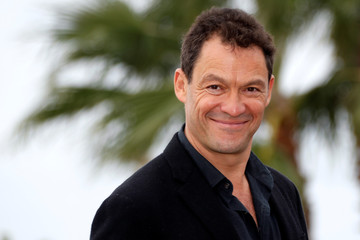 "Dominic West poses during a photocall for the television series ""Les Miserables"" during the annual MIPCOM television programme market in Cannes"