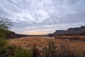 Bill Williams River - National Wildlife Refuge-Arizona near Lake Havasu