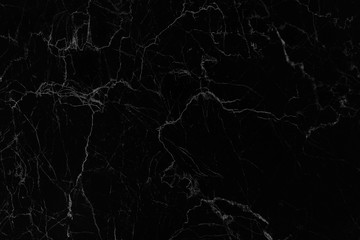 Black marble texture abstract background with high resolution,Natural monochrome patterns