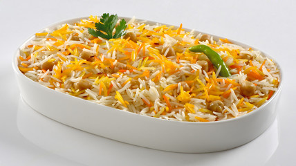 Chana Pulao, Boiled Chick pea with Basmati Rice