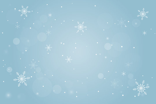 Abstract Winter Background. Merry Christmas and Happy New Year.
