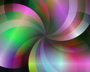 Abstract vector background composed of simple elements