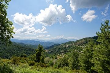 Frankreich - Korsika - Castagniccia Bergwelt