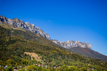 La Chartreuse vue depuis Saint Hilaire