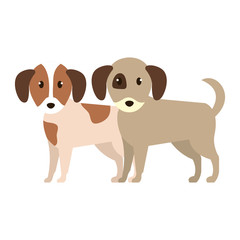 cute little dogs characters
