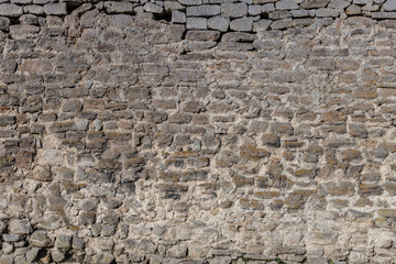 Stone wall for use as a background