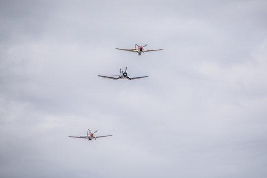 War Planes Formation