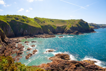 Cliffs of the Island of Jersey