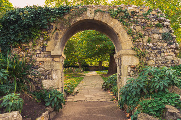 arch in the park Fotomurales