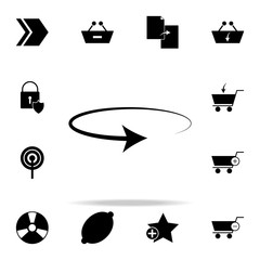 reversal arrow icon. web icons universal set for web and mobile