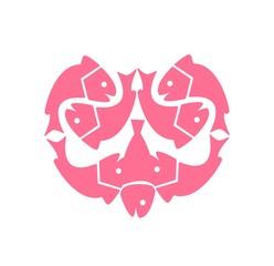 heart of fish logo