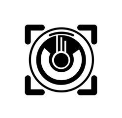camera photo scope for company logo