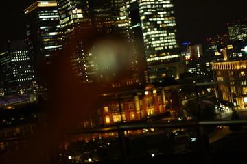 Keuken foto achterwand Buenos Aires クリスタルボールと夜景