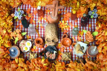 Day of the dead altar (Dia de Muertos)