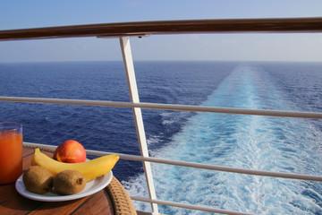 Breakfast on a Cruise Ship, Vegetables, Caribbean