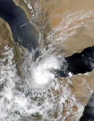 Tropical Cyclone Sagar. Elements of this image are furnished by NASA.