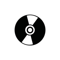 DVD icon. vector illustration
