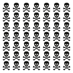 skull and crossbones vector background