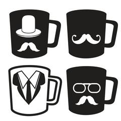 father's day mug icons