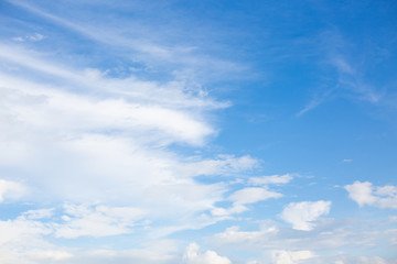 Beautiful blue sky with cloud nature abstack background