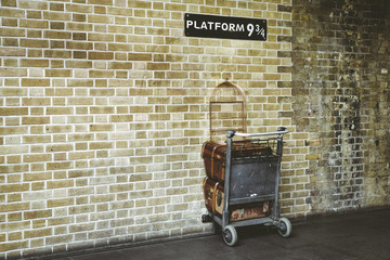 Platform 9¾ at King's Cross Station