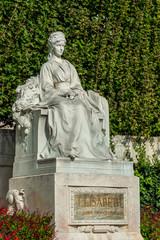 Kaiserin Elisabeth Denkmal im Wiener Burggarten