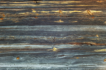 Wooden texture. The wall of old wooden boards. Close-up, Background