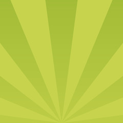 Sunlight abstract background. Green color burst background.