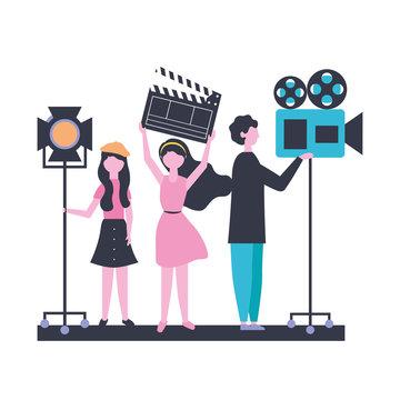 people team production movie film