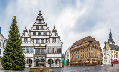 Town hall of Paderborn, Germany