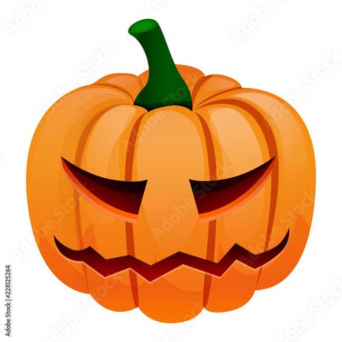 Halloween Pumpkin Cartoon Images.Halloween Pumpkin Icon Cartoon Of Halloween Pumpkin Vector