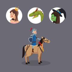Fairy stories cartoons
